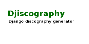 Djiscography logo