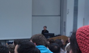 Judith Butler at Sussex University