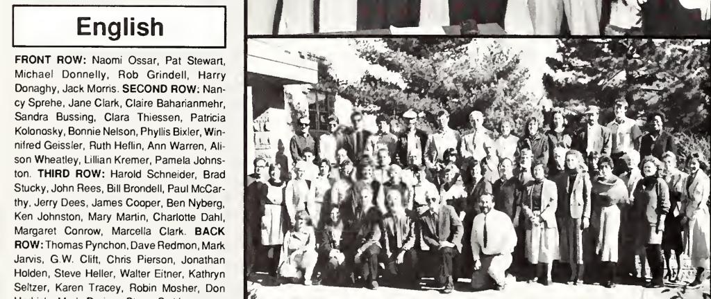 Thomas Pynchon 1988
